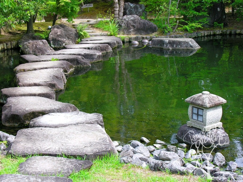 - Como decorar un estanque ...