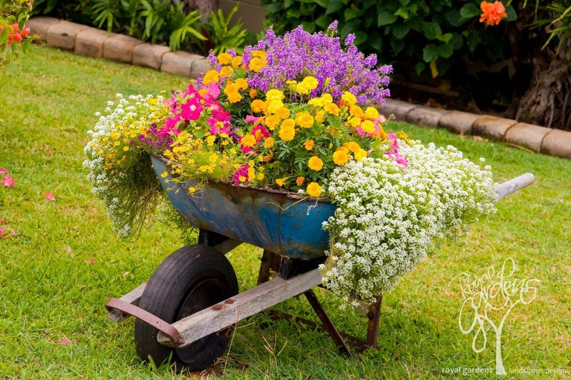 Украшения в саду картинки