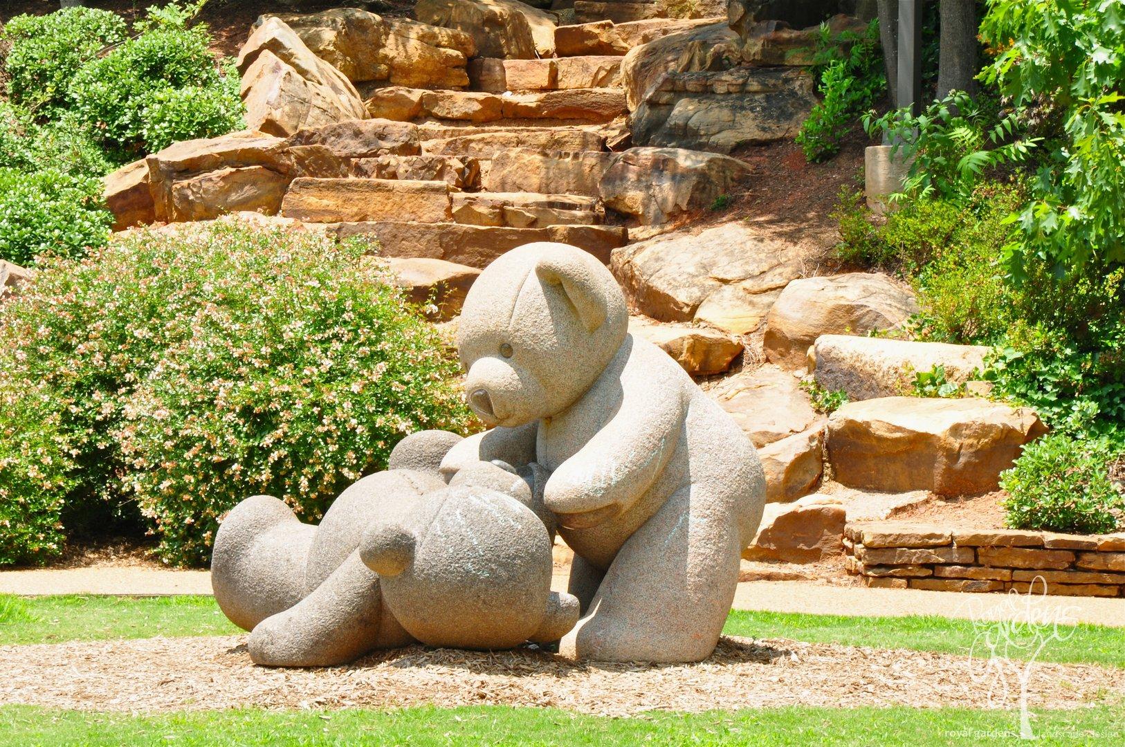Фото статуй из камней